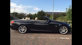 BMW 335i M-sport hard top convertible manual