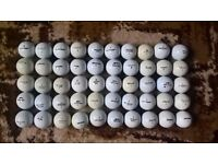 Mixed Golf Balls (50No)