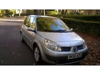 RENAULT MEGANE SCENIC AUTOMATIC 1.6CC,MOT JUNE 17 IN EXCELLENT CONDITION,INSIDE AND OUT.RECENT SERVI