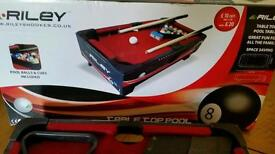 Snooker table top