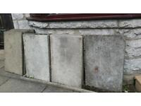 Slabs for free 900 x 600 x 50mm