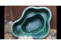 Fibreglass Pond - approx 194x154x57cm