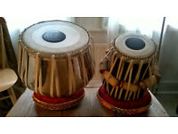 Tabla drums from India (like-new)