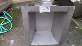 Gas Fire Back Box Stainless Steel - £20.00