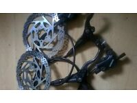 shimano bl m395 hydraulic disc brakes
