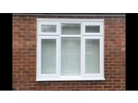 White double glazed windows