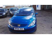 Peugeot 307 1.4 16v 5dr £1350