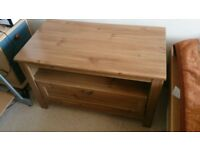 Cabinet TV Stand Table Shelf with 1 Chest of Drawers Living Room