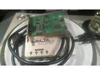 M-Audio Delta 44 (4 in/4 out, 24bit 96kHz) Audio Interface soundcard