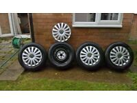 "T5 Volkswagen - 5 Hole 17"" Wheels & Cover Plates"