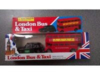 London Bus and Taxi Models – BRAND NEW