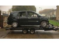 car transporter trailer strong twin axle