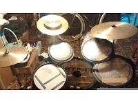 Flats acoustic drum kit (compact non electric)