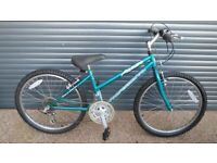 GIRLS PROFESSIONAL BIKE IN EXCELLENT LITTLE USED CONDITION. (SUIT APPROX. AGE. 8 / 9+).