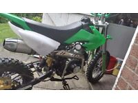 125cc pit bike in good condition