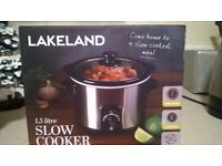 1.5L Slow Cooker (Lakeland)