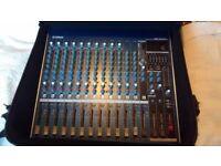 Yamaha mg16/6fx audio sound stage mixing desk