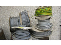 JOB LOT OF ELECTRICAL CABLE