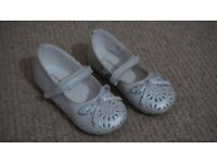 Monsoon Girl White Shoe Brand New Size 6
