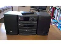JVC CA-S200 compact audio unit