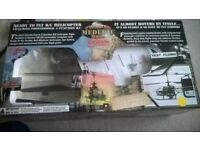 Radio Controlled Helicopter. Twister Bell Medevac. Boxed, unopened, brand new