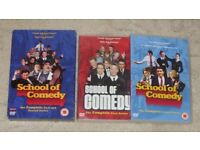 *VGC* School Of Comedy - Complete First & Second Series (DVD Box Set)