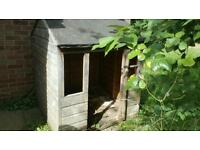 Free - Child's wooden play house/shed