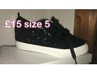 Woman's trainers size 5 new