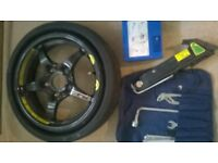 Space Saver Tyre and kit
