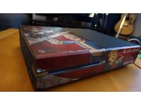 Xbox One For Sale - Fallout 4 skin - Controller with batteries - Full working condition with Box