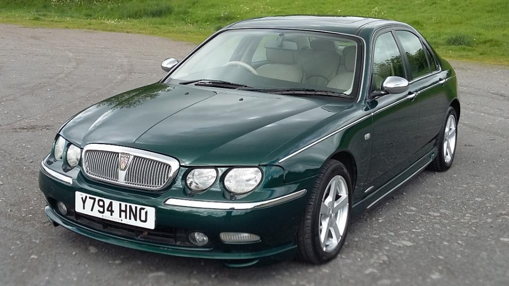 rover 75 2 5 v6 connissuer met british racing green with. Black Bedroom Furniture Sets. Home Design Ideas