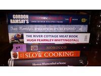 Bundle 6 Cooking Books inc Gordon Ramsey & Heston Blumenthal