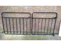 Two metal gates