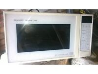 Sharp Quartz Chef convection oven, microwave and & grill
