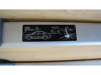 Genuine Audi A4 roob bars (saloon)
