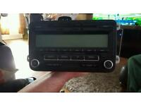 VW Radio LOW EU BVX Blaupunkt GMBH CD Player