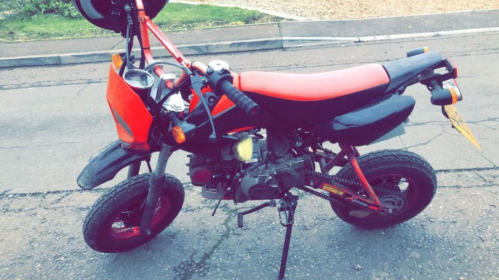 Shineray 125 on road pitbike 2015
