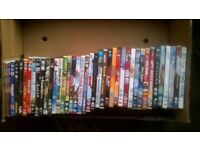 selection of boys dvd's