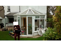 Conservatory for sale, already dismantled, buyer to collect