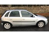 VAUXHALL CORSA 5 DOOR 1.2L SXI (2003) low 57k miles year mot