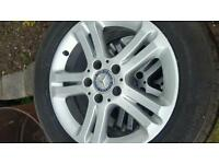 Mercedes-Benz E Class alloy wheels 16""