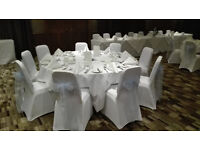 Wedding Chair Cover's & Sash , Tablecloths, Bunting & Sweet Jar's Hire.