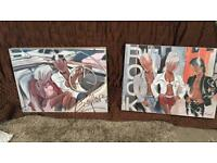 Farel Canvas set of 2 (ex display)