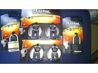 JOB LOT Master excell lock (brand new)