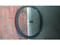 MOUNTAIN BIKE FRONT WHEEL - EXCELLENT CONDITION - COMPLETE WITH TYRE AND INNER TUBE