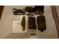 ICOM IC-F3002 Hand Held Two Way Radio In Box Never Used