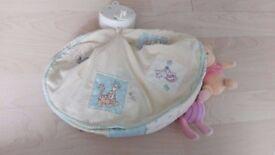 Large bundle of classic winnie the pooh nursery items