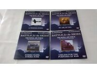 Battle of the Skies ' The Daily Telegraph' set of 4 DVD's
