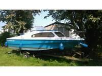 Shetland 570 fishing boat