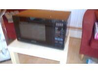 Daewoo KOR9GBP Free Standing Microwave 26L 900 Watt Black